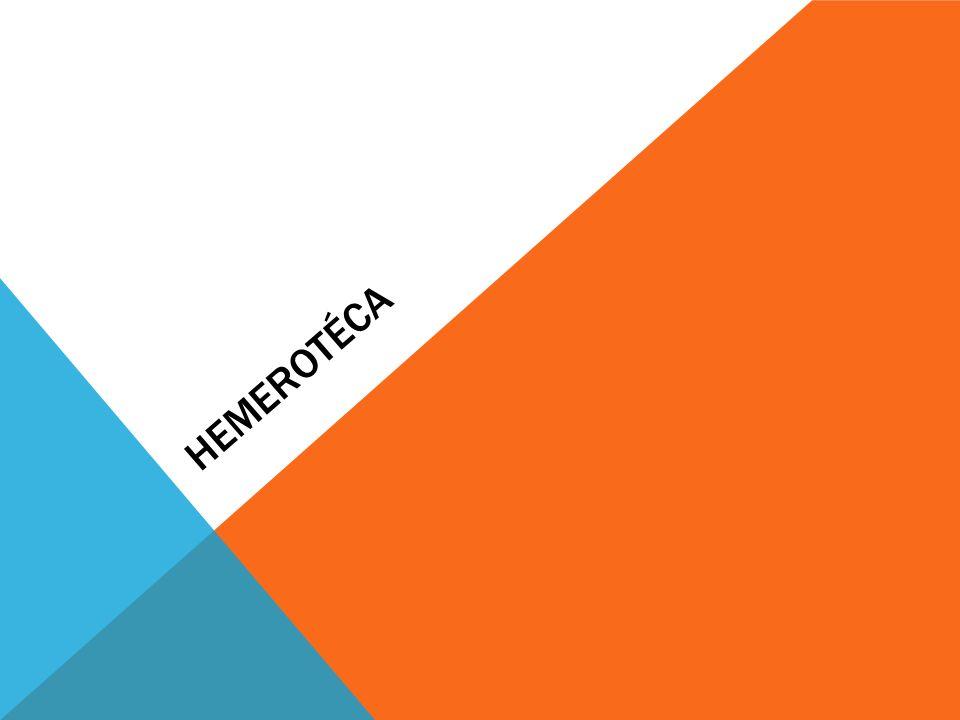 HEMEROTÉCA