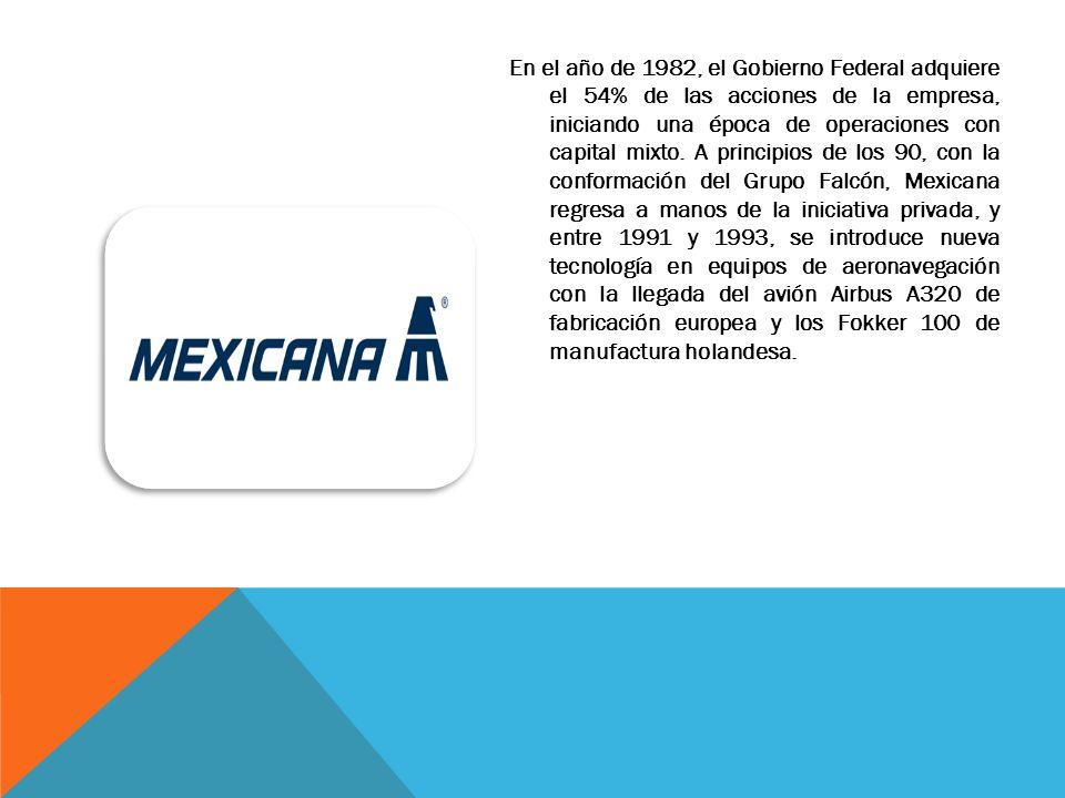 Mexicana fue el mayor operador de aeronaves Boeing 727 fuera de Estados Unidos hasta el 31 de mayo de 2003, cuando estos aviones fueron retirados del servicio.