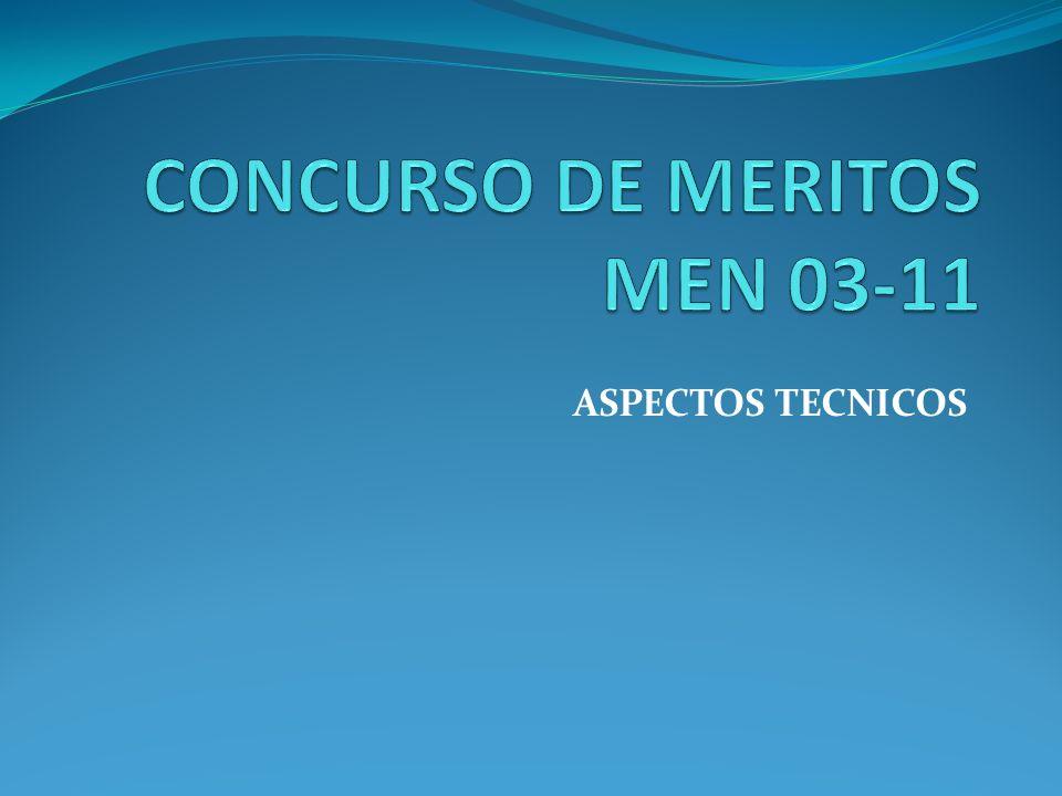 ASPECTOS TECNICOS
