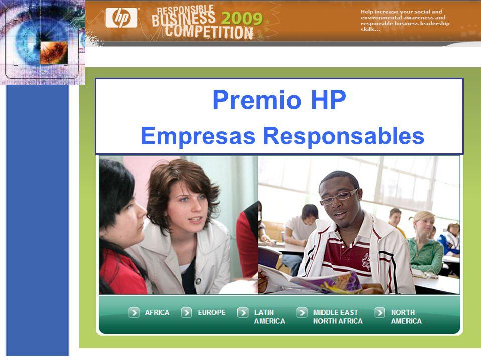 Premio HP Empresas Responsables