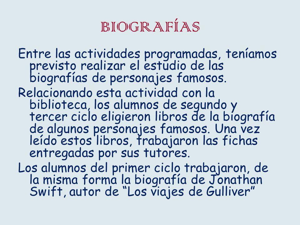 BIBLIOTECA Y PLAN DE LECTURA Semana Cultural.