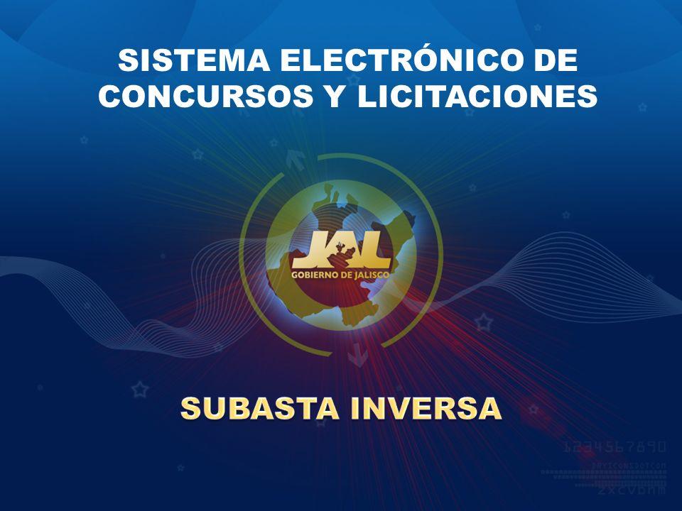 SISTEMA ELECTRÓNICO DE CONCURSOS Y LICITACIONES