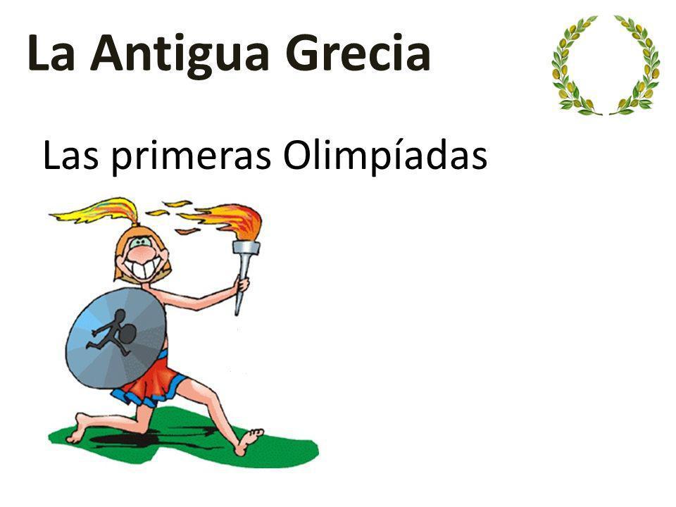 La Antigua Grecia no era un solo país sino diversas ciudades estado Sin embargo, tenían el mismo idioma, la misma religión y la misma historia