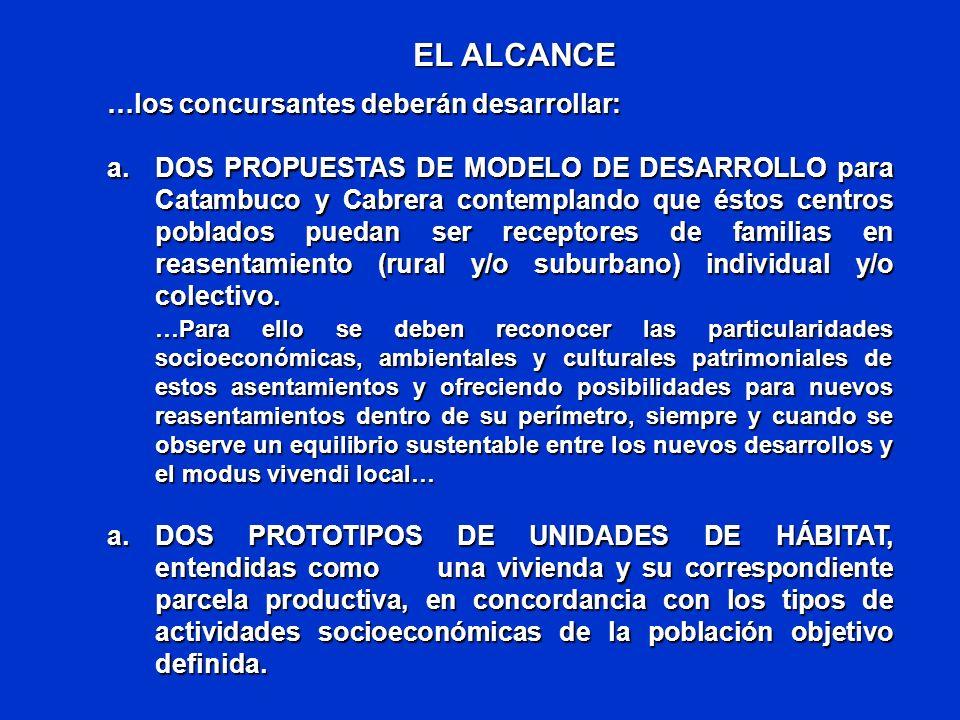 LA CONSIDERACION – APLICACIÓN DE PRINCIPIOS BASICOS EN LAS PROPUESTAS Inclusión: Todos los habitantes de la ZAVA tienen derecho al restablecimiento de sus condiciones de vida.