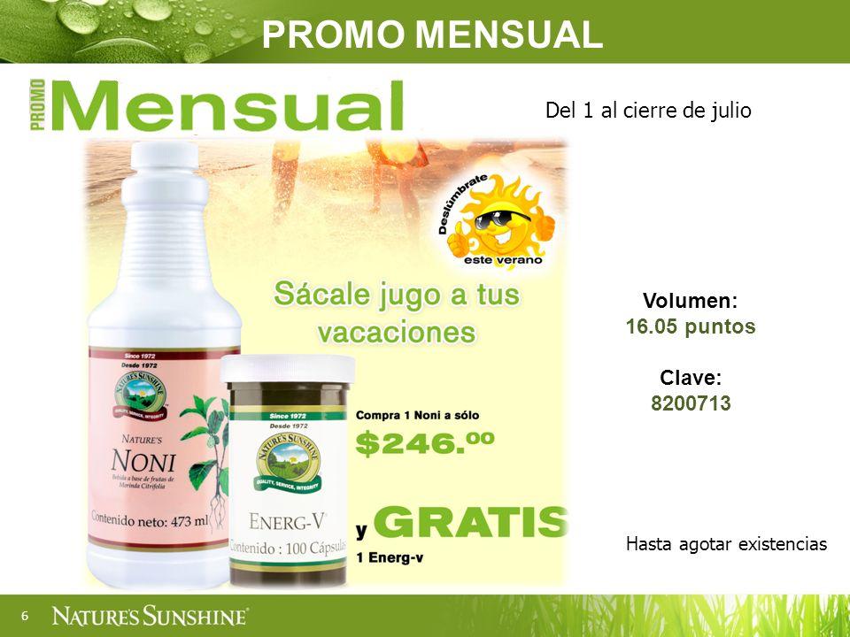 PROGRAMA Sunshine Premium Vigencia: de mayo a diciembre 2013