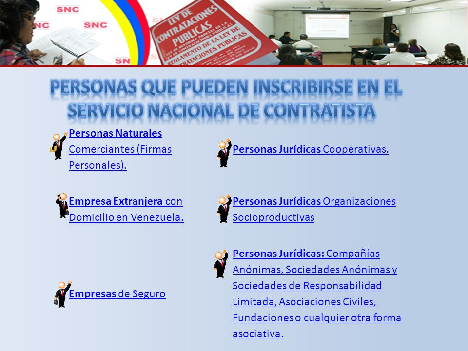 Nombre de Usuario: Contraseña: www.snc.gob.ve/