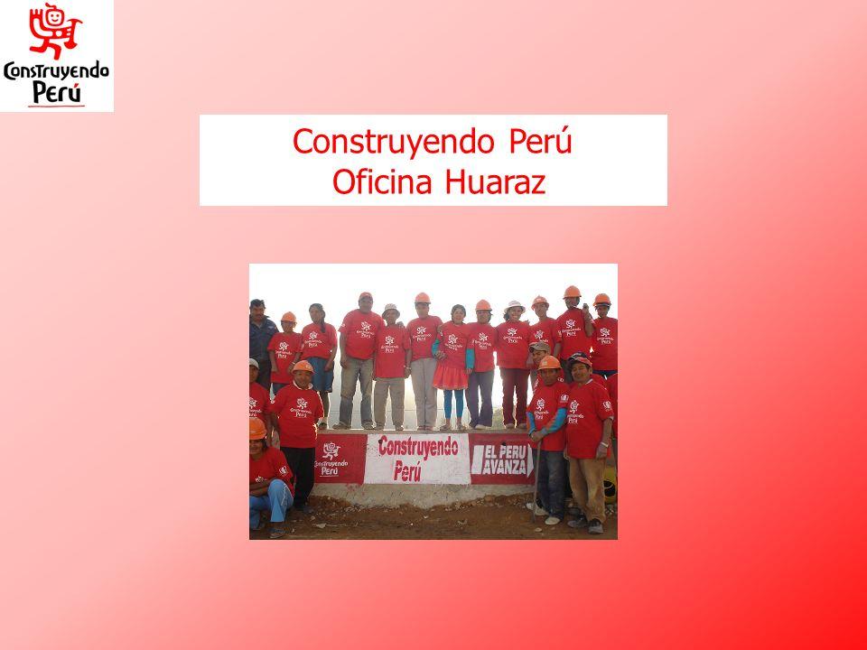 Construyendo Perú Oficina Huaraz