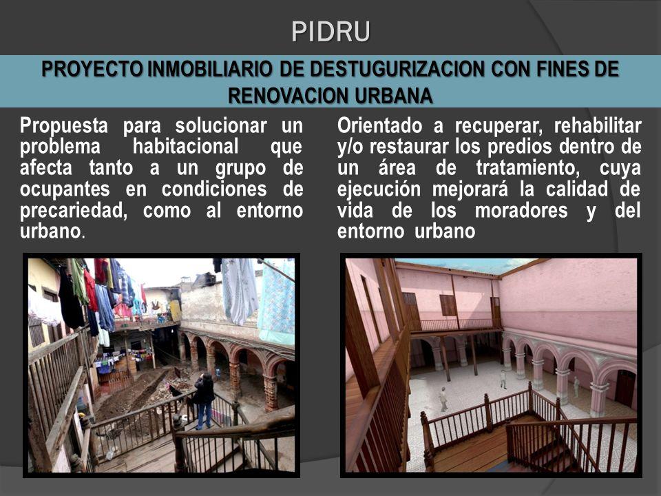 Propuesta para solucionar un problema habitacional que afecta tanto a un grupo de ocupantes en condiciones de precariedad, como al entorno urbano. Ori