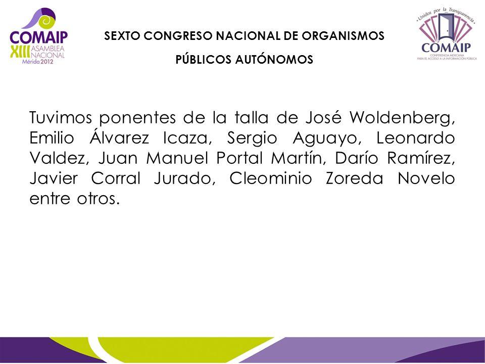 Décimo Aniversario de la Ley de Acceso a la Información Pública del Estado de Sinaloa, Abril 2012
