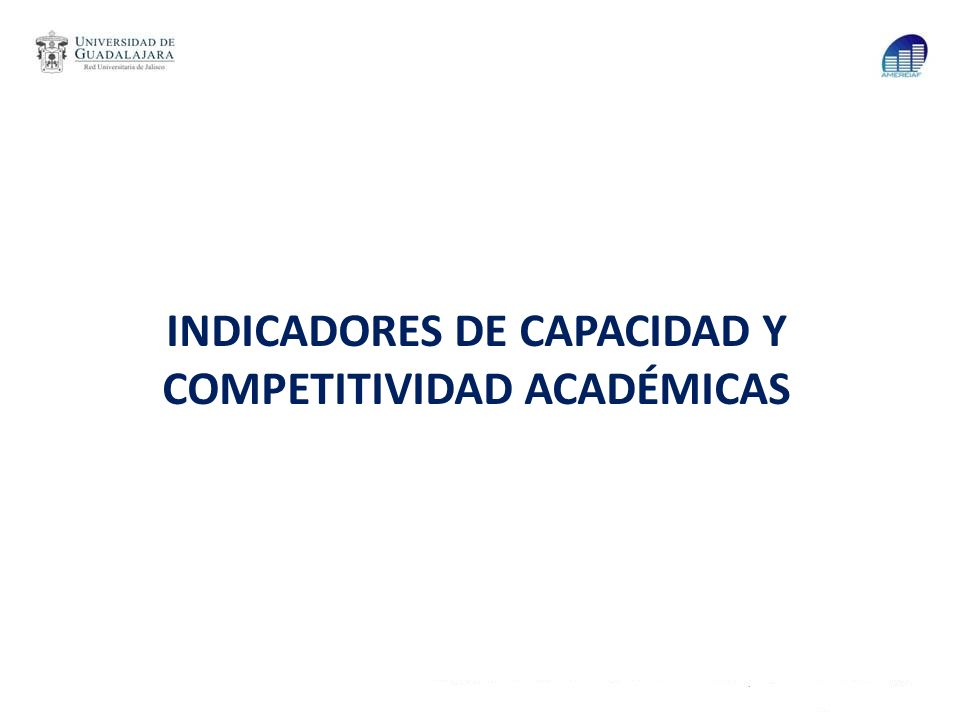 Índice I.Como preámbulo II.Evolución de los principales indicadores en el período 2003 al 2013 III.Valores de los indicadores de capacidad y competitividad académicas IV.Impactos reales del PIFI y el uso de indicadores de capacidad y competitividad académicas V.Comparativos nacionales