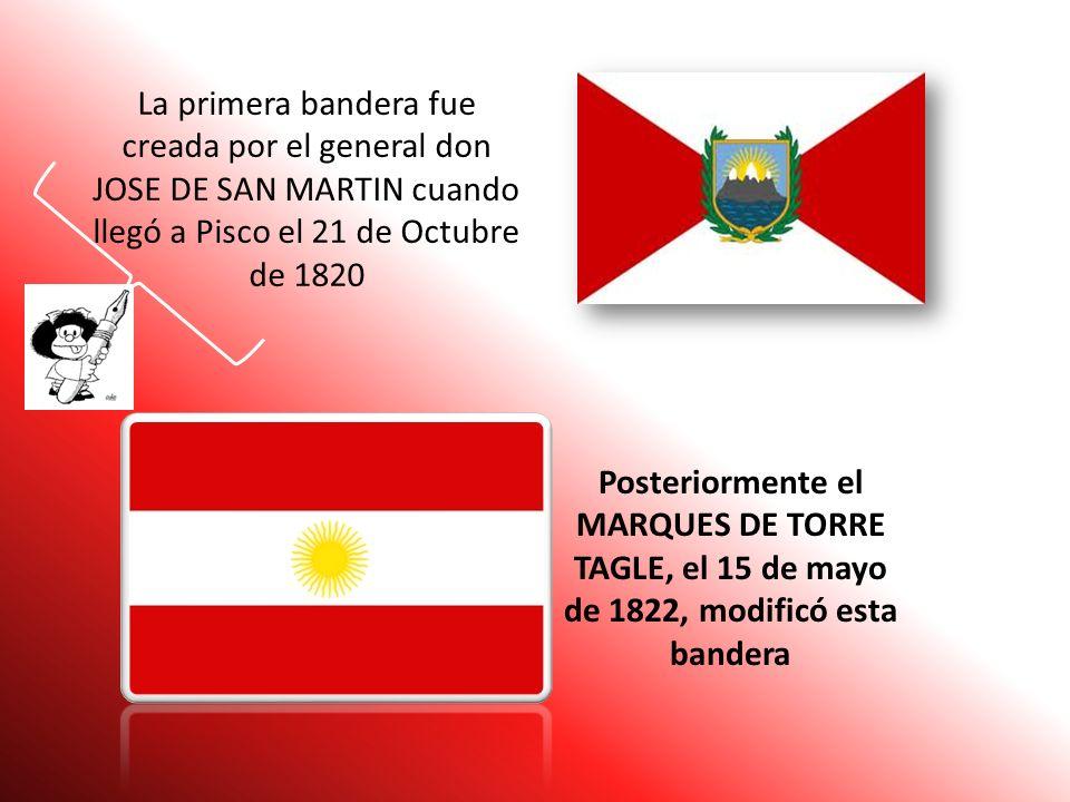 LA BANDERA NACIONAL Es la insignia de nuestra patria. Ella resume en sus colores blanco y rojo la esencia de el Perú.Representa a nuestro territorio y