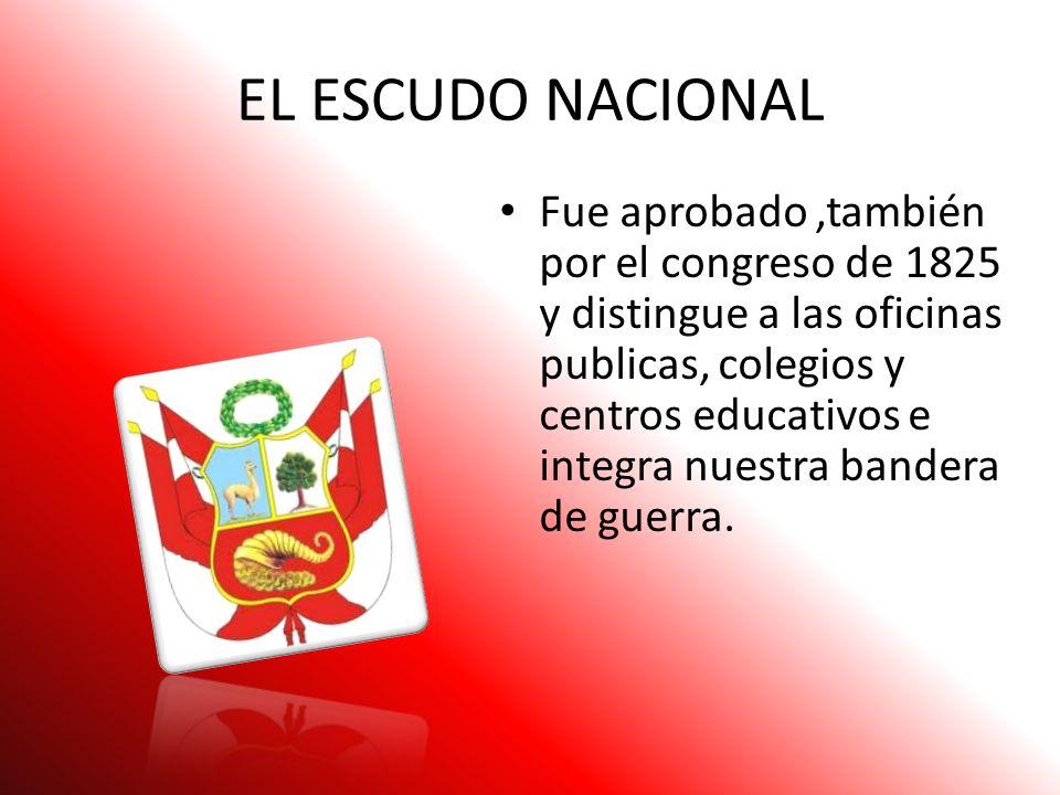 El 31 de mayo de 1822 se creo la tercera bandera nacional La nueva bandera tenia 3 campos verticales,los dos extremos rojos y al centro blanco. En la