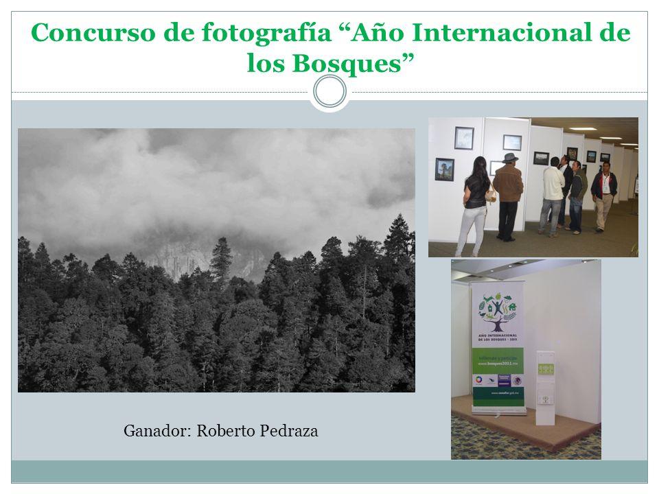 Concurso de fotografía Año Internacional de los Bosques Ganador: Roberto Pedraza