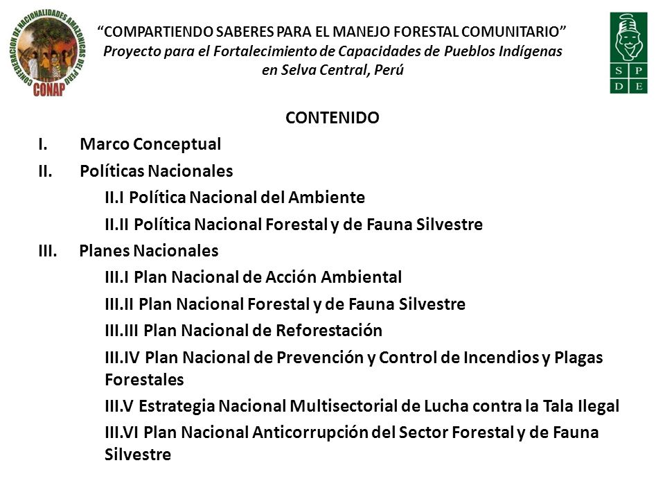 OBLIGACIONES DEL CONCESIONARIO FORESTAL CON FINES MADERABLES (Art.
