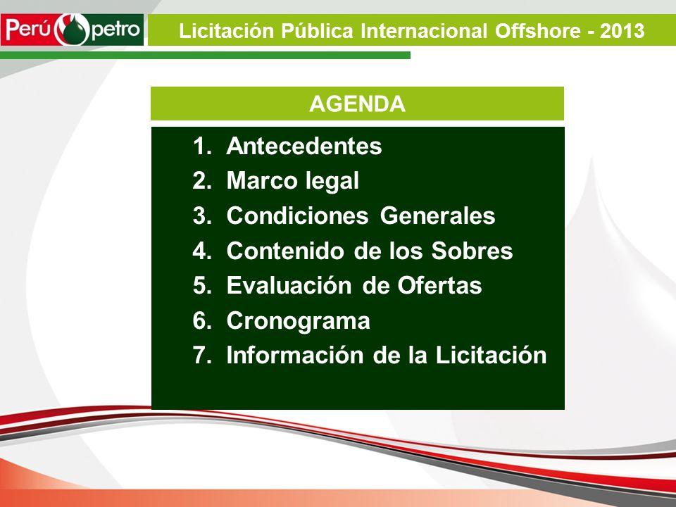 1.Mediante Acuerdo de Directorio N° 048-2010 (15.04.2010), se aprobó el Procedimiento e Indicadores para la Calificación de Empresas Petroleras y Proceso de Selección.