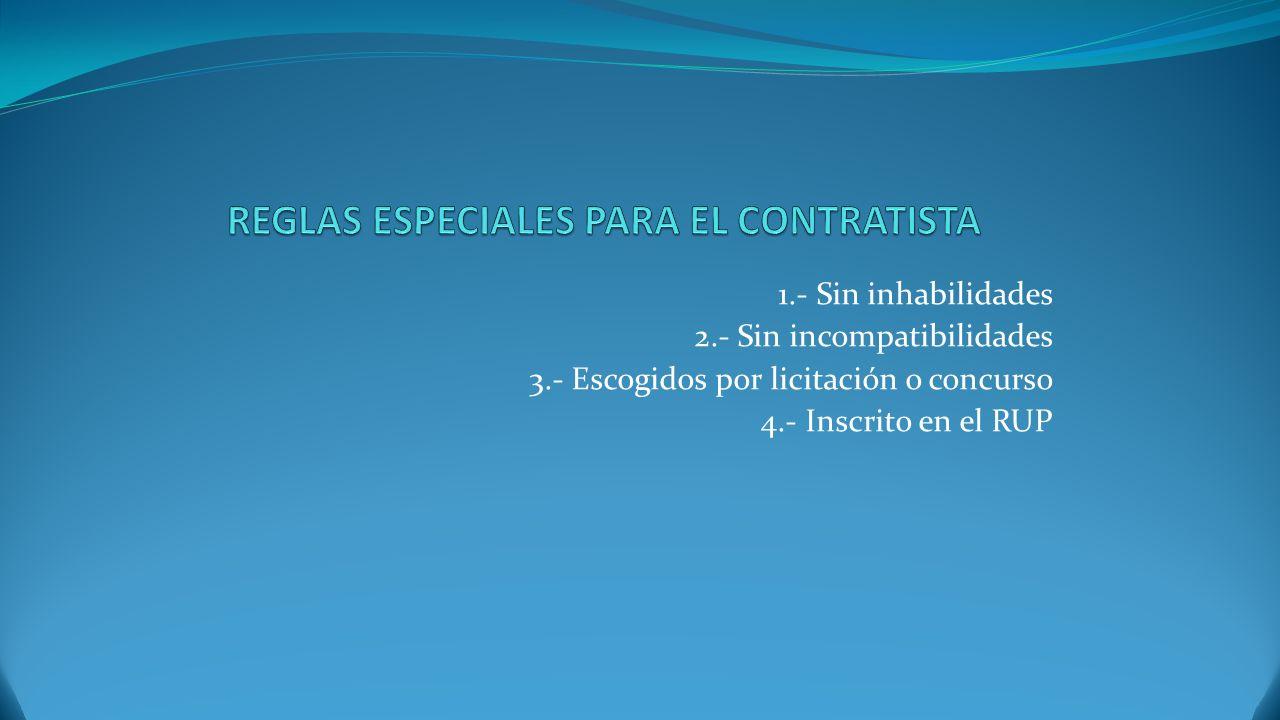1.- Principio de buena fe 2.- Objeto lícito 3.- Causa lícita 4.- Personas capaces