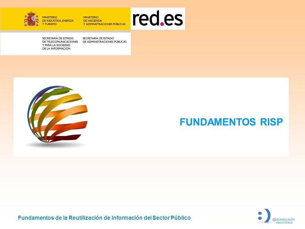 Fundamentos de la Reutilización de Información del Sector Público FUNDAMENTOS RISP