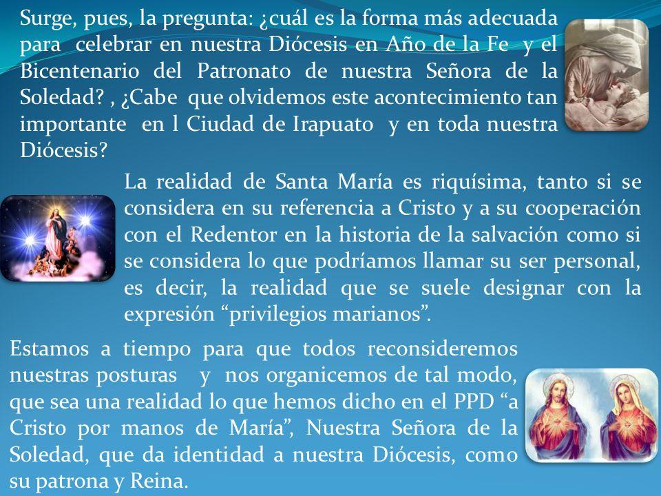 Así, en la Mariología se entrecruzan las nervaduras de la construcción teológica: desde las cuestiones cristológicas y eclesiológicas hasta las relati