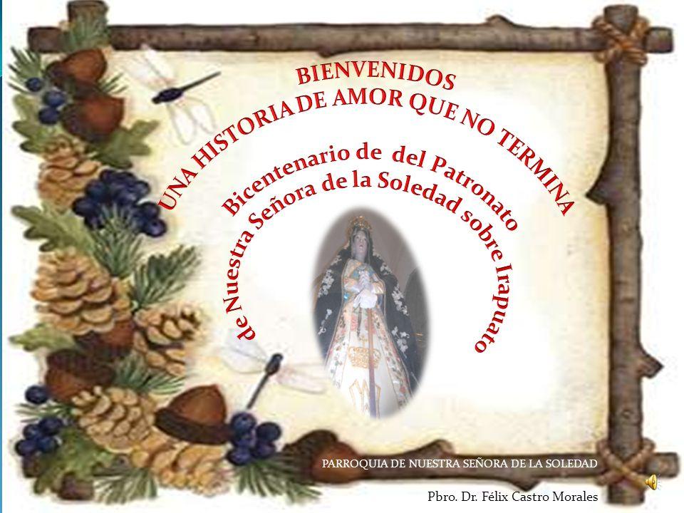 ¿Cuál otra puede ser nuestra respuesta, sino con las palabras y la vida, seguir viviendo y cantando?: Viva la Virgen nuestra patrona, que en Irapuato tiene su altar, y reine siempre Cristo, en la Irapuato, noble y leal.