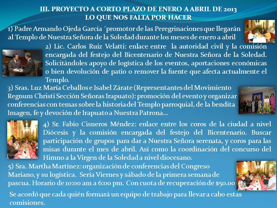 PARROQUIA DE NUESTRA SEÑORA DE LA SOLEDAD Pbro. Dr. Félix Castro Morales