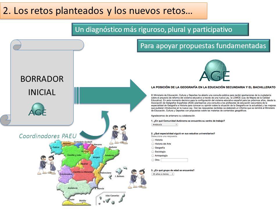 3. Sistema de trabajo y de relación con el profesorado de Bachillerato. El papel del coordinador PAEU. Propuesta de red de comunicación-coordinación f