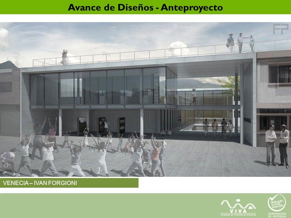 VENECIA – IVAN FORGIONI Avance de Diseños - Anteproyecto