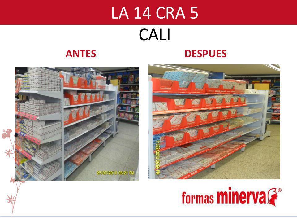 LA 14 CRA 5 CALI ANTESDESPUES