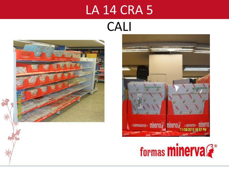 LA 14 CRA 5 CALI