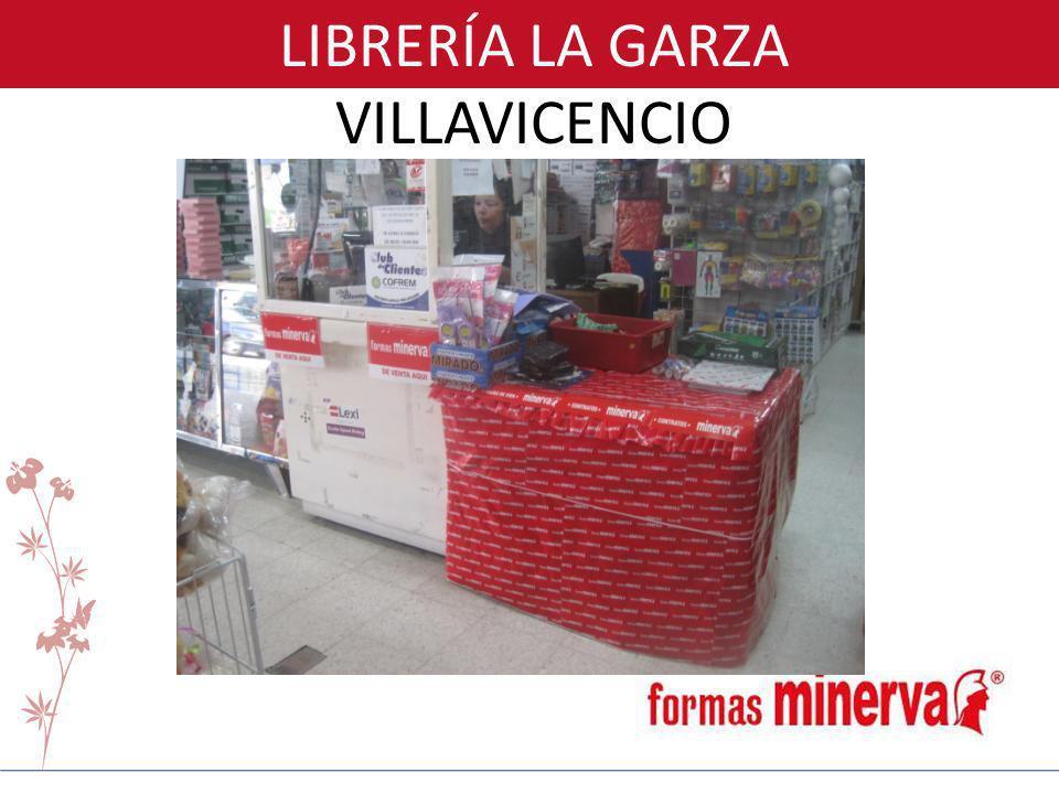 LIBRERÍA LA GARZA VILLAVICENCIO