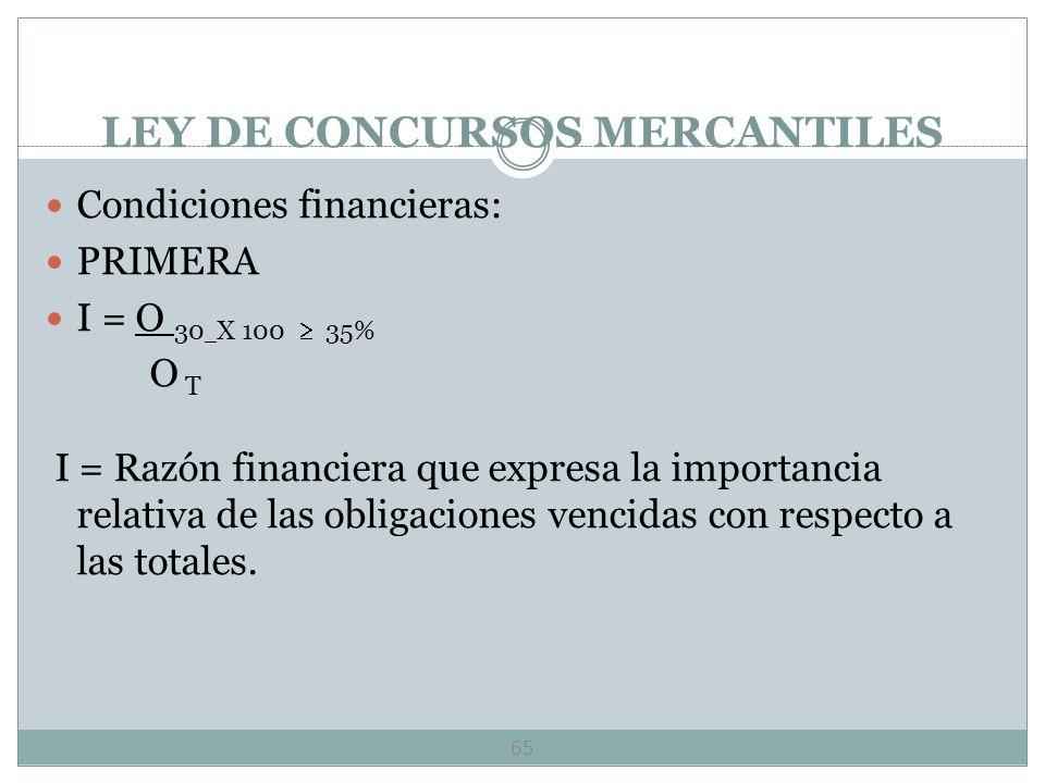 CONTRATOS MERCANTILES 64 Créditos de habilitación y refaccionario