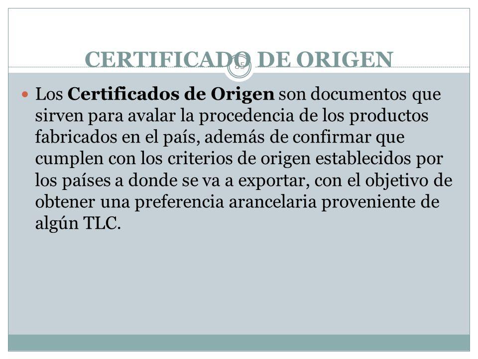 El TLCAN (NAFTA). 84 Entró en vigor el 1/ En./ 94. Objeto Rubros negociados. Certificado de Origen Acuerdos paralelos (Laboral y Ambiental)