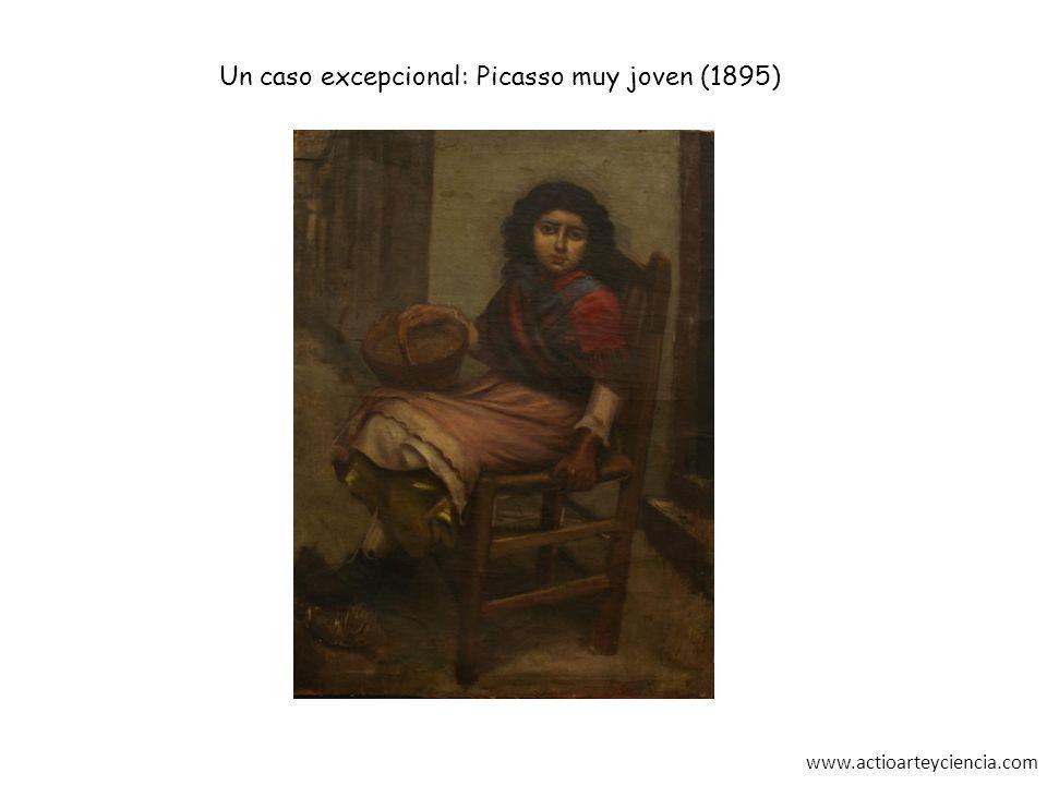 Un caso excepcional: Picasso muy joven (1895)