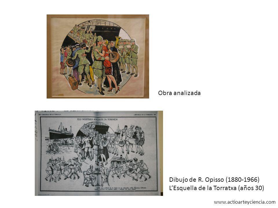 www.actioarteyciencia.com Obra analizada Dibujo de R. Opisso (1880-1966) LEsquella de la Torratxa (años 30)