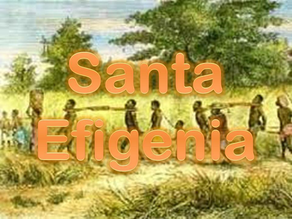 Santa Efigenia o Santa Efigenia de Etiopía es una santa de la Iglesia copta y la Iglesia católica, una de las responsables de la diseminación del Cristianismo en Etiopía.