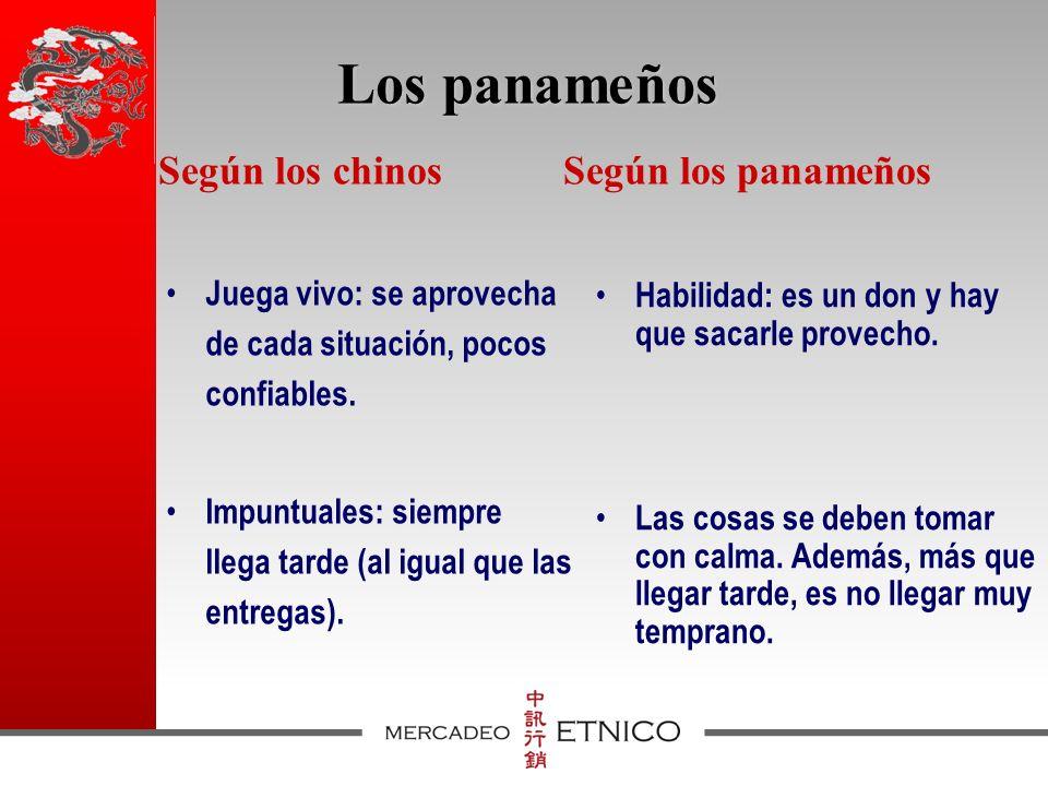 Los panameños Juega vivo: se aprovecha de cada situación, pocos confiables.