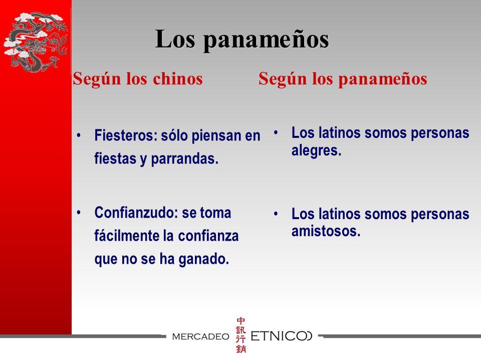 Los panameños Fiesteros: sólo piensan en fiestas y parrandas.