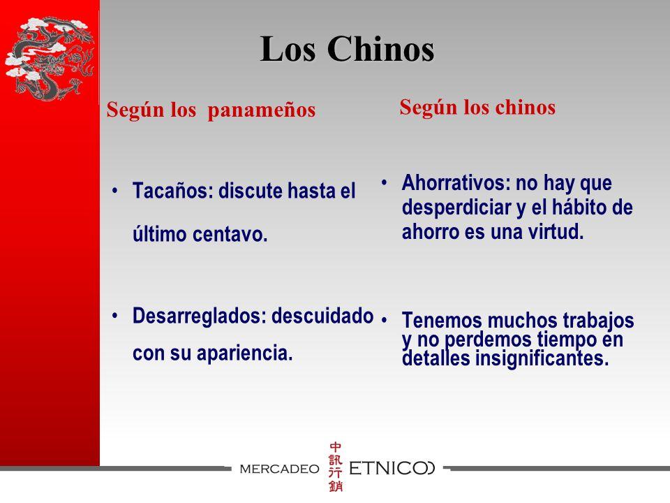 Los Chinos Tacaños: discute hasta el último centavo.
