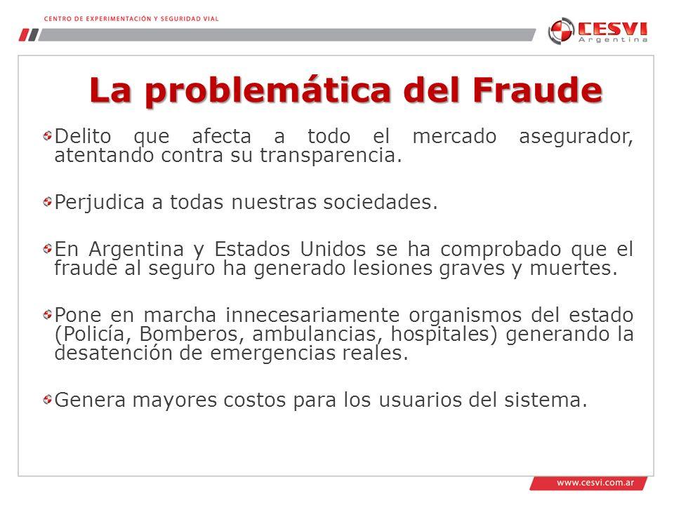 La problemática del Fraude Delito que afecta a todo el mercado asegurador, atentando contra su transparencia.