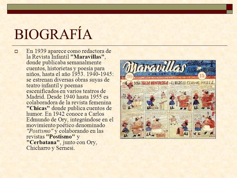BIOGRAFÍA En 1947 obtiene el 1º premio de Letras para canciones de Radio Nacional de España.