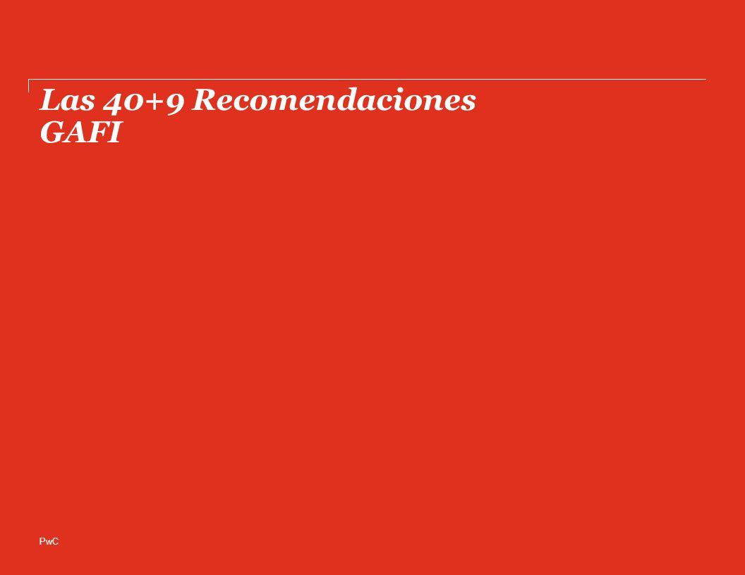 PwC Las 40+9 Recomendaciones GAFI