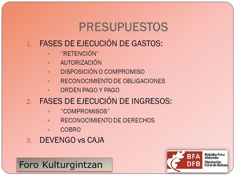 Foro Kulturgintzan ORDENANZAS FISCALES CONCEPTO IMPORTANCIA DE LAS EE.