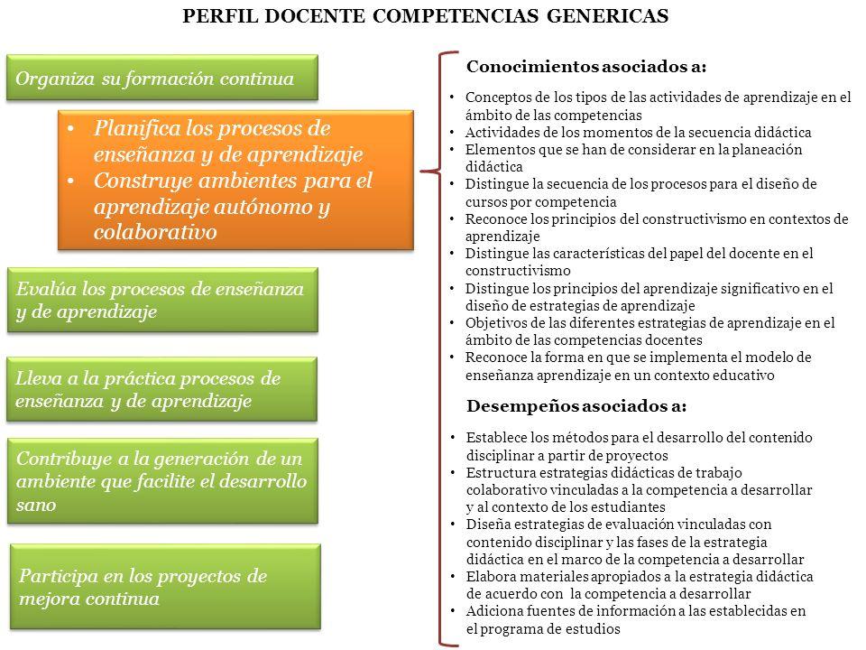 S UBSECRETARÍA DE E DUCACIÓN M EDIA S UPERIOR Conocimientos asociados a: Conceptos de los tipos de las actividades de aprendizaje en el ámbito de las