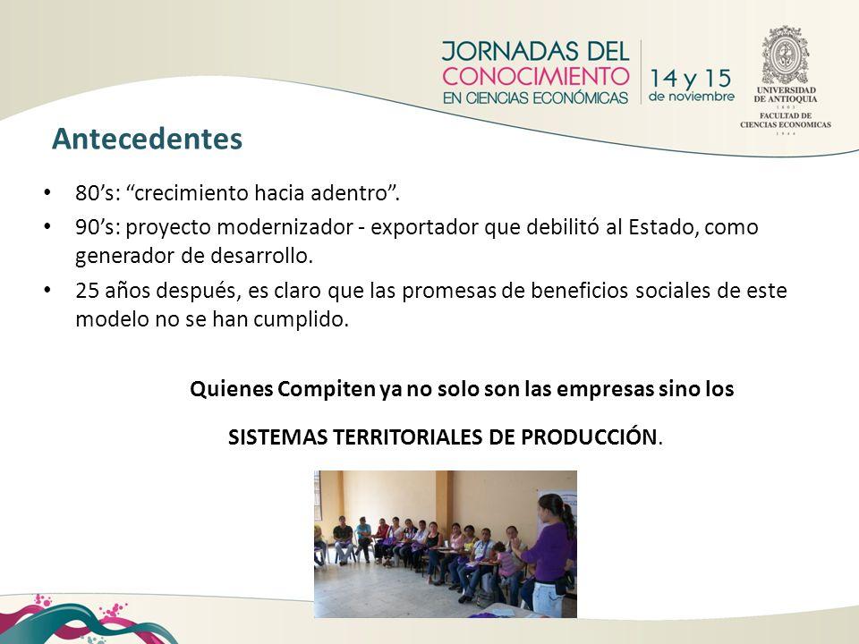 1.Departamento de Antioquia pionero en el debate sobre desarrollo regional 1.2.