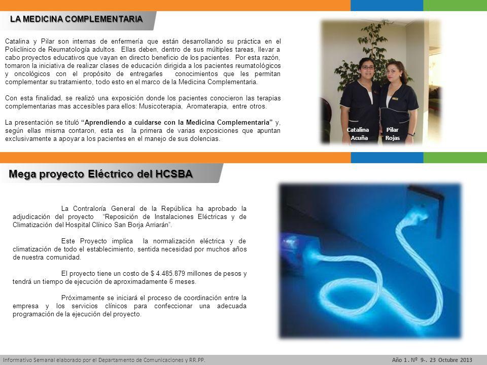 Informativo Semanal elaborado por el Departamento de Comunicaciones y RR.PP.