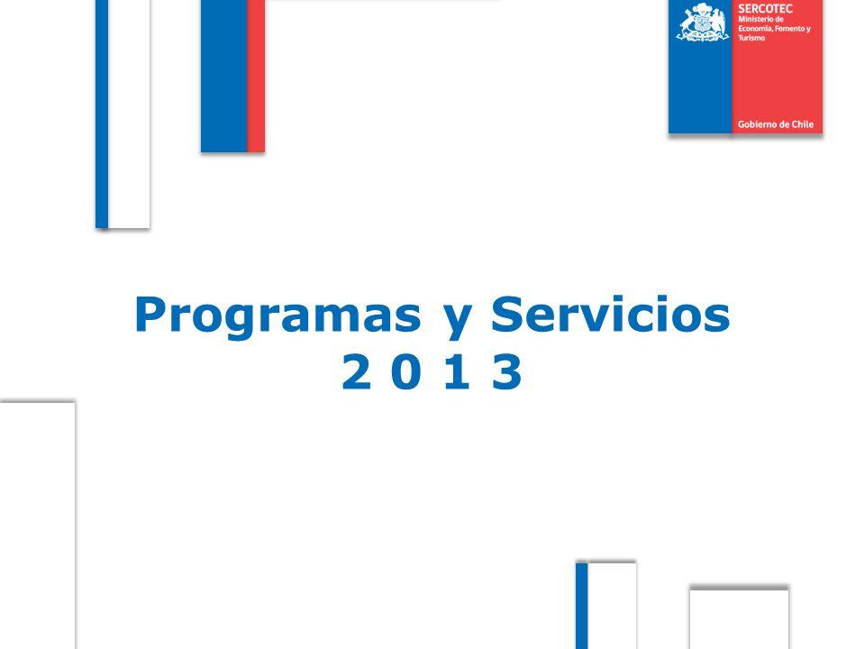 Programas y Servicios 2 0 1 3