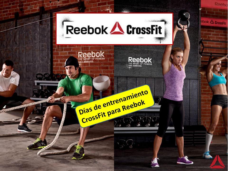 Días de entrenamiento CrossFit para Reebok Llegaron los productos CrossFit a las tiendas Reebok Perú.