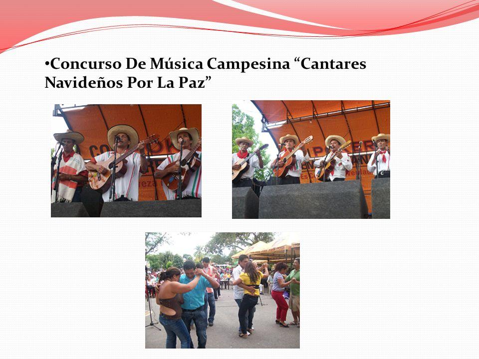 Concurso De Música Campesina Cantares Navideños Por La Paz