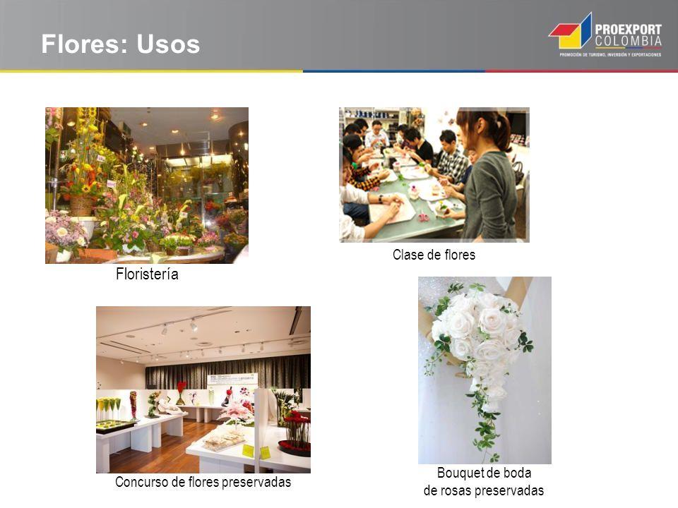 Flores: Usos Floristería Bouquet de boda de rosas preservadas Clase de flores Concurso de flores preservadas