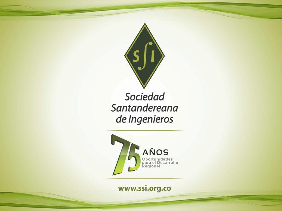 SOCIEDAD SANTANDEREANA DE INGENIEROS SOCIEDAD SANTANDEREANA DE INGENIEROS