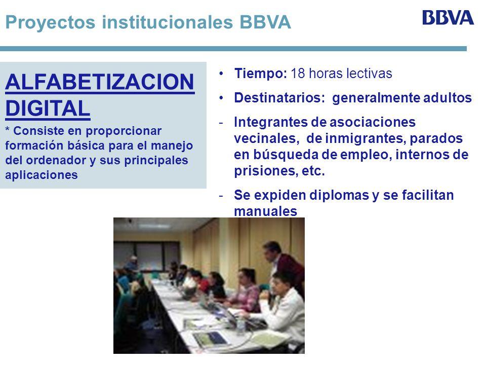 Iniciativas institucionales de Voluntarios Se presentaron 71 proyectos; record de participación.